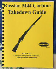 Russian M44 Carbine Rifle Takedown Guide Radocy NEW IN COLOR