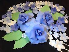 Zuckerdekor Zuckerblumen Hochzeit Muffins Geburtstag Taufe Tortendekoration lila