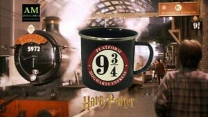 HARRY POTTER - EMAILLE TASSE PLATFORM 9 3/4 -  NEU/OVP MUG KAFFEETASSE POT - NEU