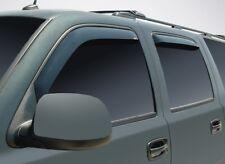 In-Channel Wind Deflectors for 1995 - 1999 Chevrolet Tahoe