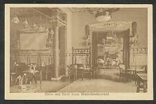 Düsseldorf  Hotel zum Römischen Kaiser  Halle mit Blick zum Wein-Restaurant