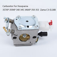 Carburetor For Husqvarna  340 345 350 353 Carb Zama C3-EL18B 503283208 503281614