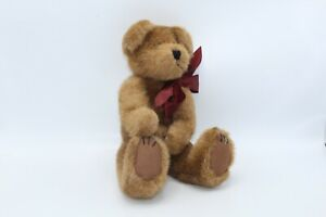 """Vintage 1998 Boyds Bear bow red Retired With Tag Plush 14"""""""