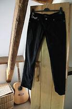 'Skinny' Ladies black stretch jeans  Size 12