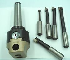 Soba 75 mm Boring Head Set Metric MT4 With Tools Morse 4 Milling