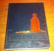 The University of Texas 1972 YEARBOOK - Cactus, Vol. 79 (Hardcover) Austin, TX