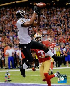 Anquan Boldin Baltimore Ravens NFL Licensed Unsigned Matte 8x10 Photo C