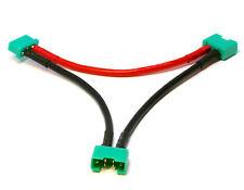 MPX Stecker Buchse 2x Lipo Akku Serien Reihe Y-Kabel Y Kabel Ladekabel Adapter