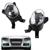 1PAIR AUTO RIGGHT&LEFT FRONT BUMBER FOG LIGHT FOR 2001-2008 A4 B6