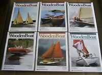 WOODEN BOAT MAGAZINE Lot 2015 - The Complete Year - 6 Full Issues #242 - #247