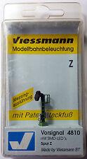 VIESSMANN 4810 SEGNALE PREAVVISO - VORSIGNAL 4 SMD LED'S SPUR Z (1:220)