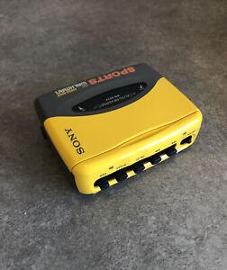 Sony SPORTS WM-SX34 Auto Reverse Walkman   #A1