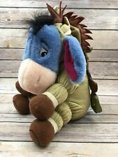 "Retired EEYORE As BULLSEYE 12"" Plush Collectible TOY STORY Winnie The Pooh"
