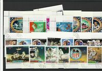 Liberia Space Exploration Cancelled Stamps ref R 18547
