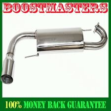 "For  99 00 01 02 03-05 Mazda Miata NA6CE 3.5"" O.D.Tip SS Alexback Exhaust System"