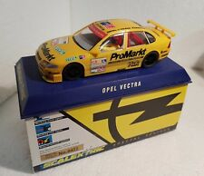 qq C 2000 SCALEXTRIC UK OPEL VECTRA No 20 PROMARKT SPECIAL EDITION