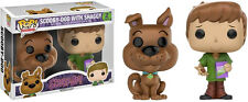 FUNKO POP VINYL SCOOBY DOO WITH SHAGGY 2 PACK EXCLUSIVE VINYL FIGURE SET