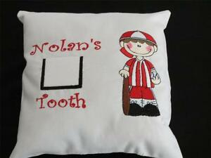 Tooth Fairy Pillow - Baseball Boy