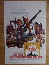 THE SAND PEBBLES (1967) - US 1 sheet (spanish) film/movie poster, Steve McQueen