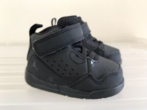 New Infant Toddler Baby NIKE Jordan SC-3 Triple Black 4C #18496