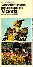 Vancouver Island Gulf Islands Victoria British Columbia Canada Vintage Booklet
