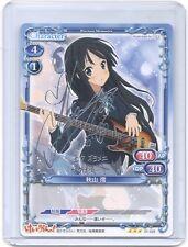 Precious Memories K-ON Mio Akiyama silver Foil stamp signed TCG anime card ver1