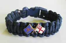 royal navy paracord armband-submariner delfine und white ensign