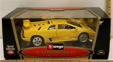 Burago Lamborghini Diablo 1990 1:18 Scale Special Collection Model # 3041 NIB
