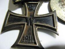 Badische Ordensspange 3 Orden - 1. Weltkrieg  1. WW - mit EK usw.  (503)
