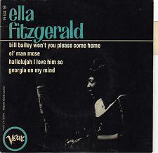 ELLA FITZGERALD GEORGIA ON MY MIND FRENCH ORIG EP