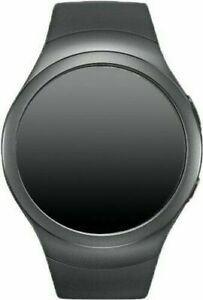 Samsung Galaxy Gear S2 42mm Stainless Steel Case Dark Gray Classic Buckle Smart