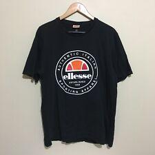 Ellesse Sportswear Puff Print T-Shirt Adult Mens 2XL XXL
