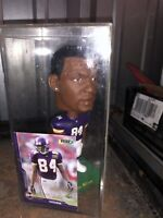 2001 NFL Edition Randy Moss Bobble Head & Collectible Card by Players, Inc. -