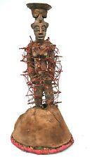 Art Africain - Fétiche de Divination à Clous pour Devins Senoufo - 28 Cms ++++++