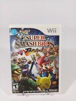 Super Smash Bros. Brawl (Nintendo Wii, 2008) Case & Manual Only - NO DISC