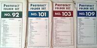 SAMS PHOTOFACT FOLDER SETS ~ TV, Phonograph, Radio ~ Manuals/Schematics
