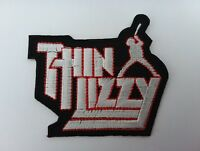 HEAVY METAL PUNK ROCK MUSIC FESTIVAL SEW ON / IRON ON PATCH:- THIN LIZZY