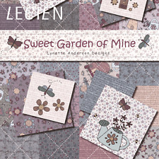 Sweet Garden of Mine by Lynette Anderson for Lecien Fabrics ~ Per Long Quarter