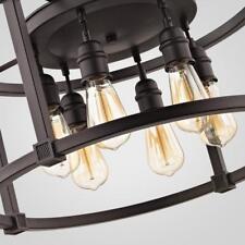Home Decorators Collection Romaro Row 6-Light Aged Bronze Dinette Chandelier
