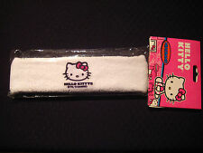 Hello Kitty - Tennis Headband - Terry Cloth - Package of 1 - White - #B1