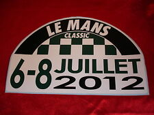 LEMANS LE MANS CLASSIC 2012 decal autocollant ~ extra small