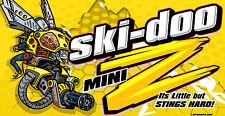 SKI-DOO custom banner Mini Z Rev XP Summit Mechanical Bee 120 MXZ