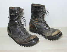 Vintage RARE Nathan Hack RIPPLE SOLE Mens 10 Vietnam War 1966 Paratrooper Boots