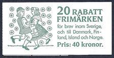 Sweden 1988 Booklet Plate# Midsummer Celebration Dance 1681-1690a, Complete MNH*