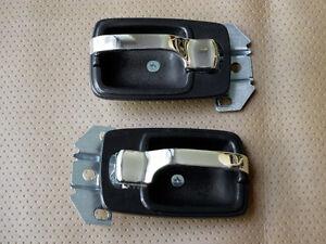 Datsun For nissan 620 1500 J15 PICKUP TRUCK INTERIOR DOOR HANDLE BEZEL TRIM SET