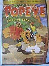 Popeye - Fists of Fury DVD, 2004  MS-21