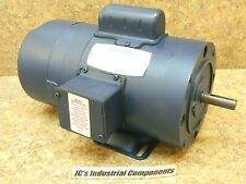 Leeson  electric  brake  motor   1/3 hp  1 ph   115-208/230 volts  1725 rpm