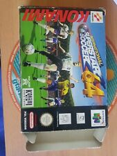 Juego Jeu Game International Superstar Soccer 64 Nintendo 64 Pal