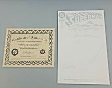 SUPERMAN THE WEDDING ALBUM #1 DYNAMIC FORCES SIGNED X4 WITH CERTIFICATE 1996
