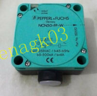 Original PEPPERL+FUCHS Square proximity switch NCN50-FP-W sensor
